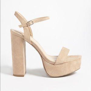 Platform Thin Strap Heels